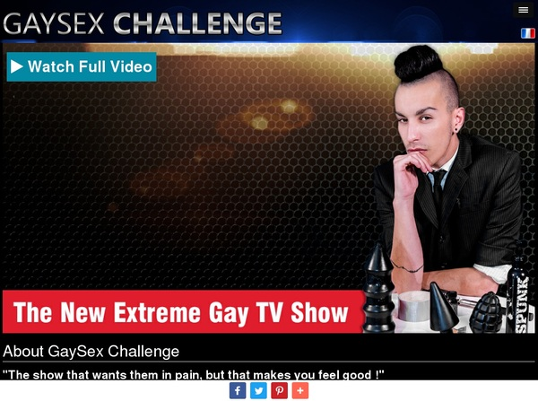Gay Sex Challenge Get Password